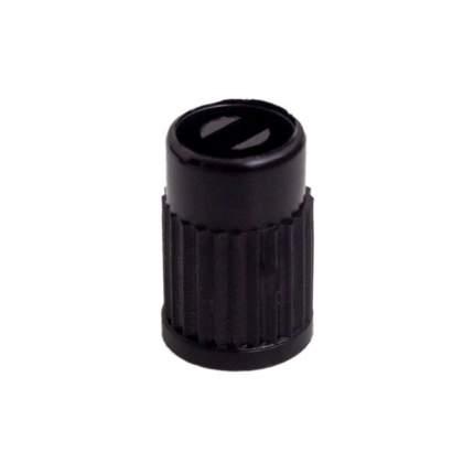 Колпачки на шинный вентиль, черные, пластик (60 шт.) AIRLINE AVC-60-02
