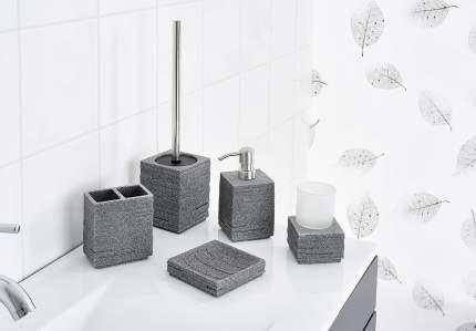 Дозатор для жидкого мыла Brick серый