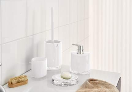 Дозатор для жидкого мыла Gaudy белый