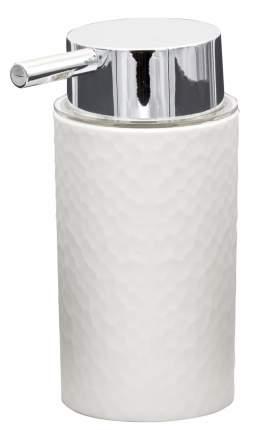 Дозатор для жидкого мыла Crimp белый