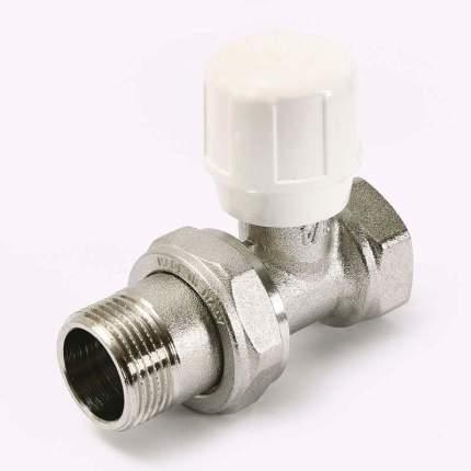 Вентиль ручной HВ 3/4 никелированный с разъёмным соединением Uni-Fitt 150N3000