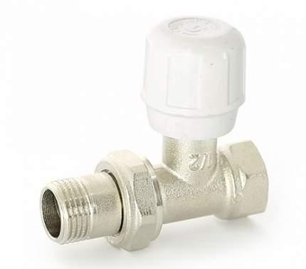 Вентиль ручной HВ 1/2 никелированный с разъёмным соединением Uni-Fitt 150N2000