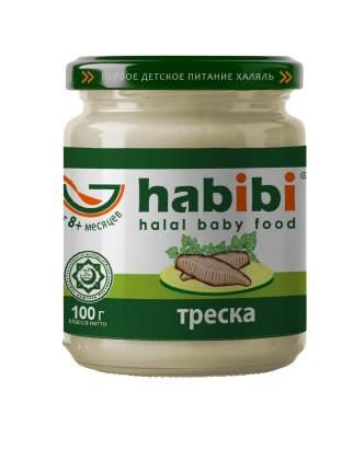 Пюре рыбное Habibi Треска с 8 месяцев, 100 г, 6 шт.