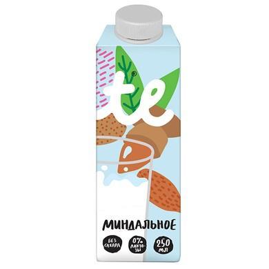 Напиток Миндальный пастеризованный 0.25л 4 упаковки