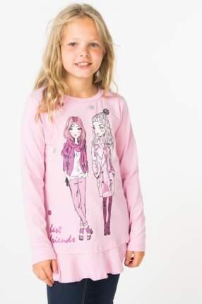 Туника для девочки PlayToday, цв.розовый, р-р 128