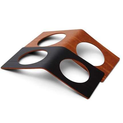 Набор колец для салфеток LIND DNA BUFFALO 2шт, черный, коричневый