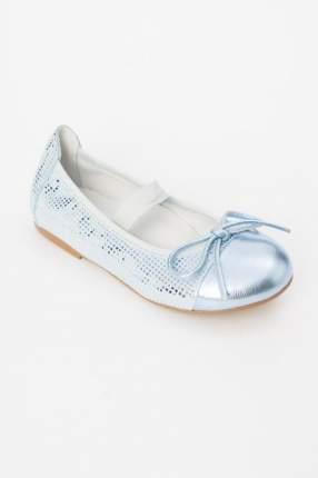 Туфли для девочки Gulliver, цв.голубой, р-р 26