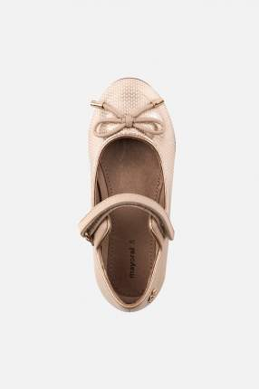 Туфли для девочки Mayoral, цв.бежевый, р-р 32
