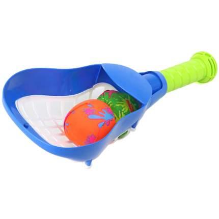 Ракетка с мячиками Veld цв. синий, 67918