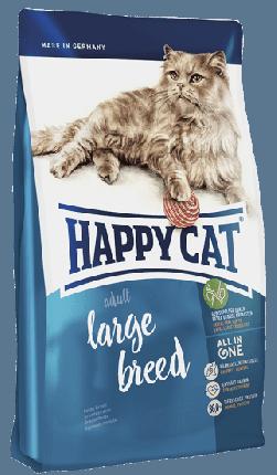 Сухой корм для крупных кошек Happy Cat Supreme Fit&Well Adult Large Breed XL, птица, 4кг