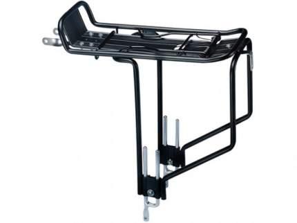 """Багажник BOR YUEH ал. Регулируемый 24-28"""" с толстыми трубами с боковыми дугами, чёрный"""