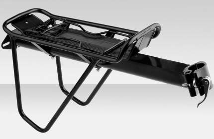Багажник  BY-364C, консольный черный на подседельную трубу