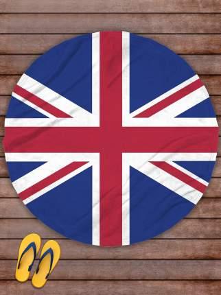 Плед покрывало пляжное для пикника флис д.145 Флаг Великобритании