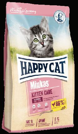 Сухой корм для котят Happy Cat Minkas Kitten Care, мясо птицы, 10кг