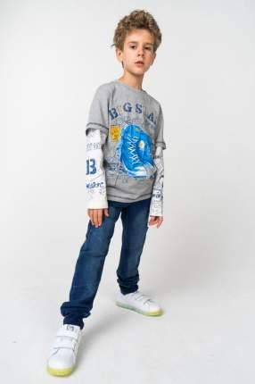 Футболка для мальчика Boboli, цв.серый, р-р 128