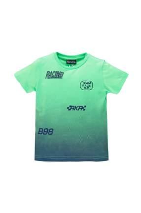 Футболка для мальчика Brums, цв.зеленый, р-р 110