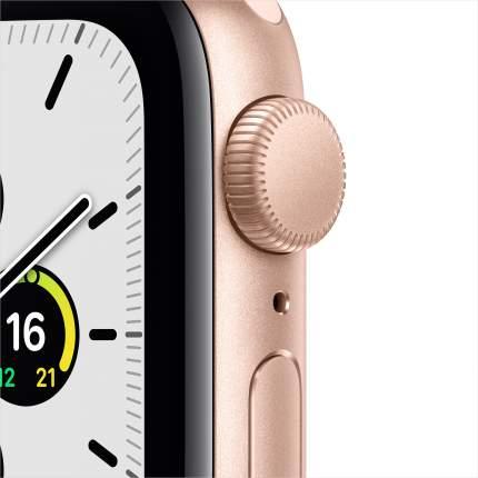 Смарт-часы Apple Watch SE 40mm Gold with Pink Sand Sport Band (MYDN2RU/A)