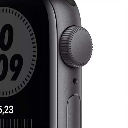 Смарт-часы Apple Watch Nike SE 40mm Space Gray, Ant/Black Nike Sport Band (MYYF2RU/A)