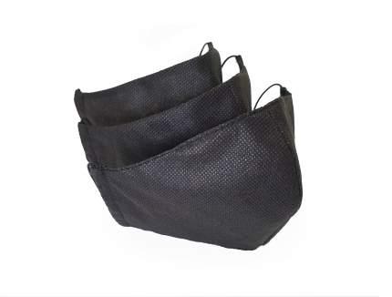 Многоразовая защитная маска MANiQ 11553 черная 3 шт.