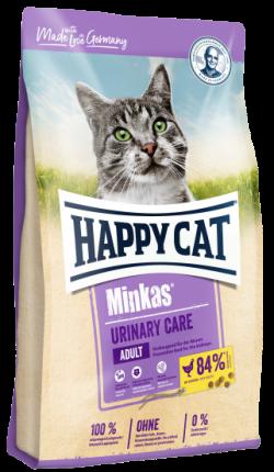 Сухой корм для кошек Happy Cat Minkas Adult Urinary Care для профилактики МКБ, птица, 10кг