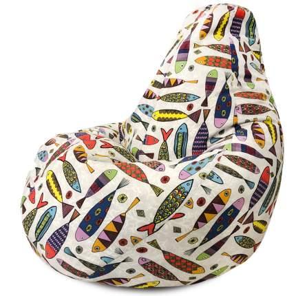 Кресло Мешок DreamBag Рыбки L