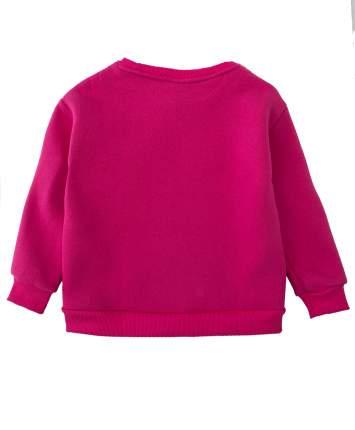 Толстовка для девочек Button Blue, цв. розовый, р-р 98