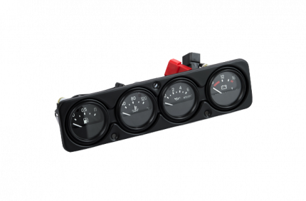 Щиток приборов с проводами УАЗ 315120380500800