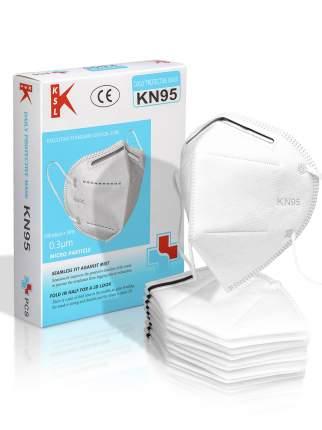 Маски KN95 четырехслойные не стерильные 10 шт.