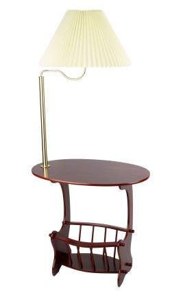 Напольный светильник BORTEN 47-669, цвет махагон