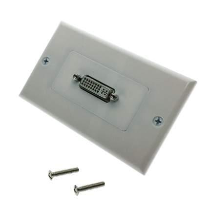Настенная панель-переходник (встраиваемая розетка) Espada EWPDVI29F