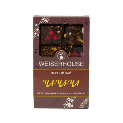"""Чай Weiserhouse """"Ча-Ча-Ча"""", чёрный прессованный с добавками, плитка, 75 гр"""