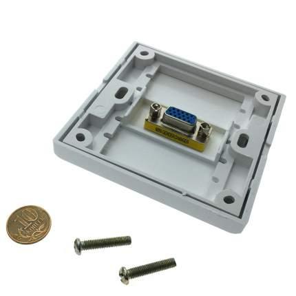 Настенная панель-переходник (встраиваемая розетка) Espada EWPVGA15F