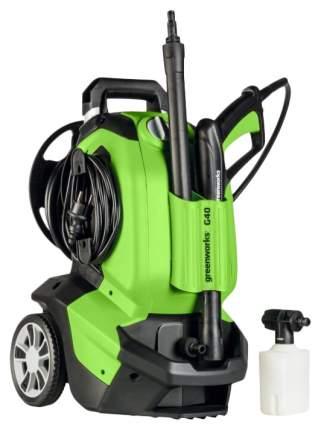 Электрическая мойка высокого давления GreenWorks G40 135 bar