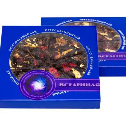 """Чай Weiserhouse """"Вселенная"""", чёрный прессованный с добавками, блин, 75 гр"""