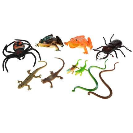 Набор рептилий и насекомых Играем Вместе 10 шт, P0009/10A
