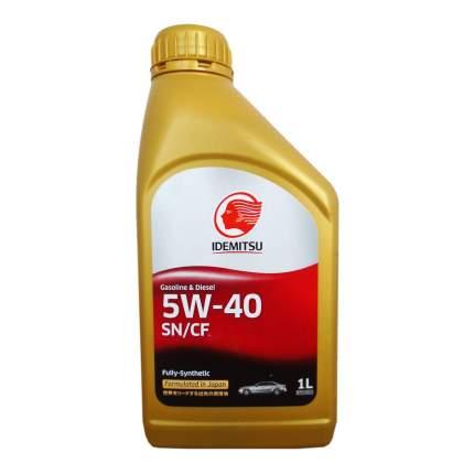 Моторное масло Idemitsu Gasoline & Diesel Fully-Sinthetic 5W-40 1л