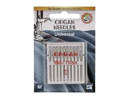 Иглы Organ универсальные 10/90 Blister