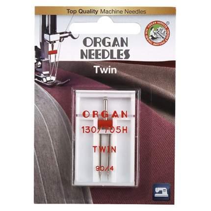 Иглы Organ двойные 1-90/4 Blister