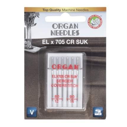Иглы Organ ELx705 CR SUK 6/80-90 Blister