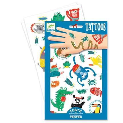Татуировки Djeco Животные