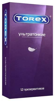Презервативы Torex ультратонкие гладкие 12 шт.
