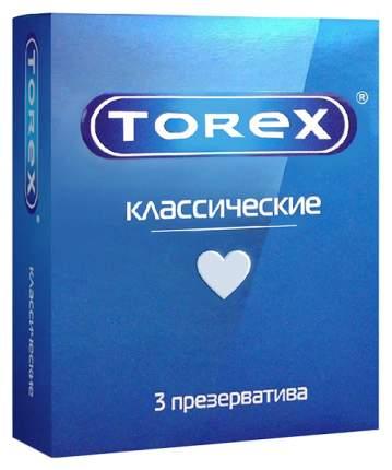 Презервативы Torex классические гладкие 3 шт.