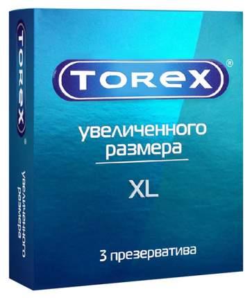 Презервативы Torex большого размера гладкие 3 шт.