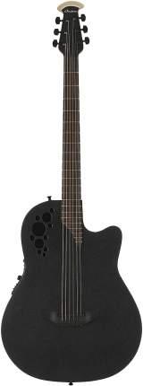 Электроакустическая гитара Ovation DS778TX-5 Elite T Mid Cutaway D-Scale Black Textured