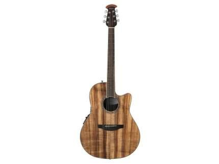 Электроакустическая гитара Ovation CS24P-FKOA Celebrity Mid Cutaway Figured