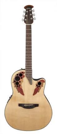 Электроакустическая гитара Ovation CE44-4 Celebrity Elite Mid Cutaway Natural