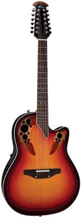 Ovation 2758AX-NEB Standard Elite 12-String Deep Contour Cutaway гитара электроакустическа