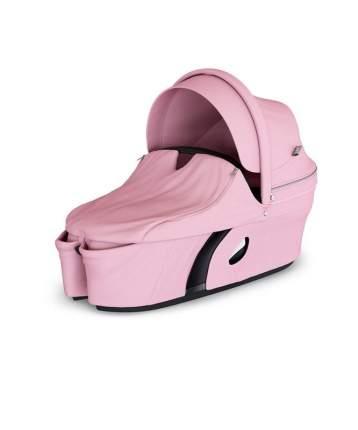 Люлька Stokke Xplory V6 + набор Lotus Pink розовый