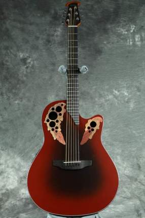 Электроакустическая гитара Ovation CE44-RRB Celebrity Elite Mid Cutaway Reversed Redburst