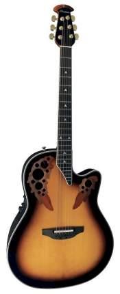 Электроакустическая гитара Ovation 2078AX-1 Elite Deep Contour Cutaway Sunburst